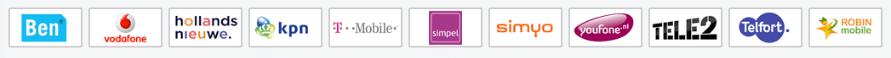 Vergelijk àlle sim only abonnementen | Sim-only-vergelijker.com