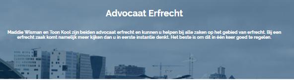 advocaat erfrecht | Advocaat Erfrecht Amsterdam | Brenner Advocaten