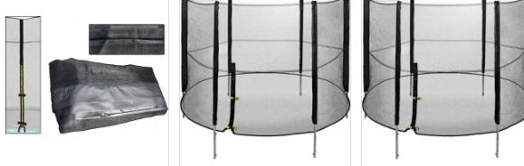 Veiligheidsnet | Veiligheidsnet trampoline | Veilig & Sterk