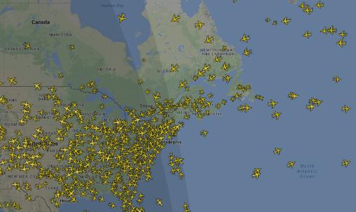 Gratis vlucht volgen met de flight tracker van flightradar24!