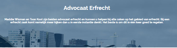 Legitieme portie | Legitieme Advocaat Amsterdam | Brenner Advocaten